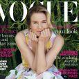Renée Zellweger en couverture de Vogue UK.