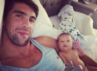 Michael Phelps papa : Un tendre cliché avec bébé !