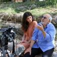 """Exclusif - Leslie Médina et Gérard Jugnot en promotion pour le film """"Camping 3"""" au camping du Pyla. Arcachon, le 9 juin 2016. © Jean-Marc Lhomer/Bestimage"""