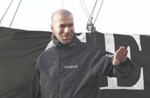REPORTAGE PHOTOS : Zinedine Zidane, un homme à la mer !