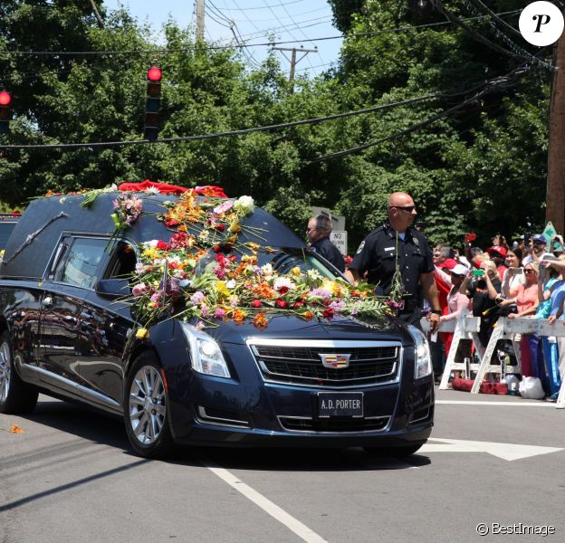 Funérailles de Mohamed Ali à Louisville, Kentucky, le 10 juin 2016