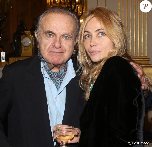 Guy Béart fait ses adieux à la scène - Archives. Guy Béart et sa fille Emmanuelle Béart à Paris en 2012