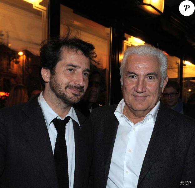 Edouard Baer et Miroslav Siljegovic