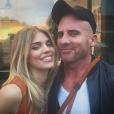 Dominic Purcell et sa compagne AnnaLynne McCord. Photo publiée sur Instagram, le 12 juin 2016