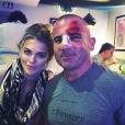 Dominic Purcell et sa compagne AnnaLynne McCord après l'accident de l'acteur. Photo publiée sur Instagram, le 10 juin 2016