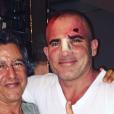Dominic Purcell et le médecin marocain qui l'a soigné après son accident de plateau sur le tournage de la 5e saison de Prison Break. Photo publiée sur Instagram, le 7 juin 2016