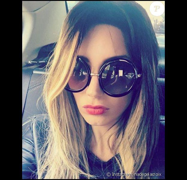 Nadège Lacroix dévoile sa nouvelle coupe, sur Instagram, mercredi 16 juin 2016
