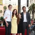 "Cal Freundlich, Julianne Moore, Liv Freundlich, Bart Freundlich - Julianne Moore reçoit son étoile sur le ""Walk Of Fame"" a Hollywood, le 3 octobre 2013."