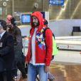 Karim Benzema à l'aéroport Roissy Charles-de-Gaulle. Le 16 juin 2016.