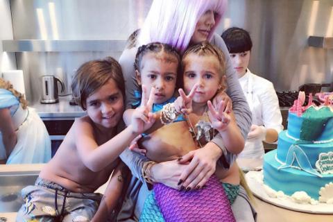 Kim Kardashian et North : Sirènes adorables pour un double anniversaire