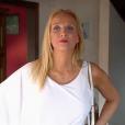 """Cristina Cordula choquée par les implants d'une participante à l'émission """"Les Reines du shopping"""" sur M6. Le 17 juin 2016."""
