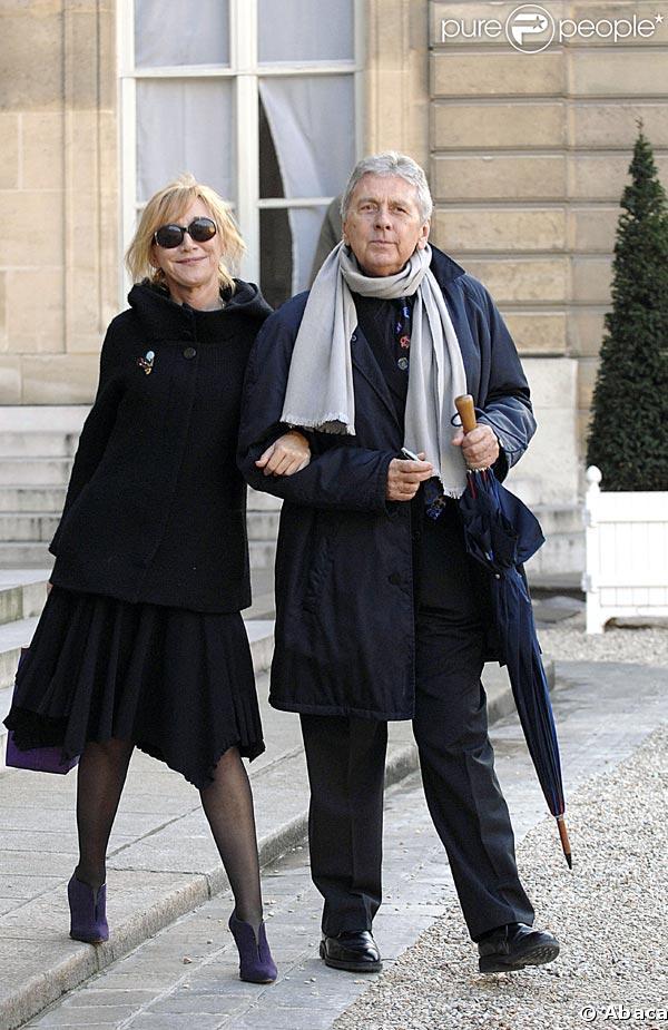 Marie-Anne Chazel et son compagnon Philippe