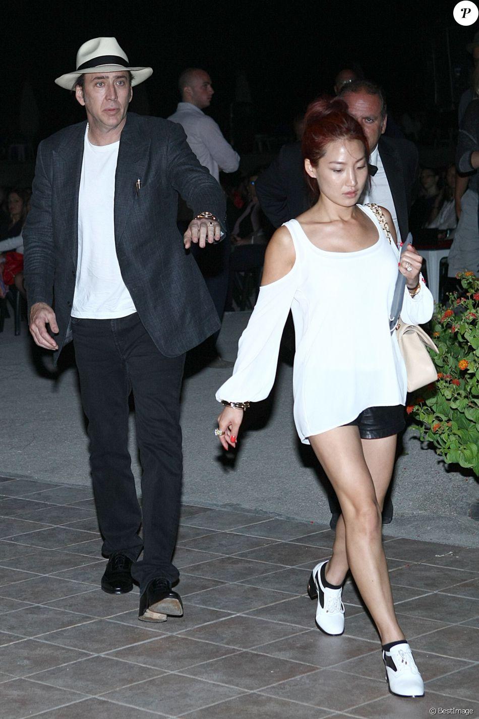 Nicolas Cage et Alice Kim au festival 2013 Film&Music a ...