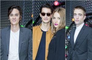 Dior Homme : Pierre Niney, Alain-Fabien Delon et Robert Pattinson au défilé