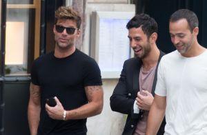Ricky Martin avec son nouveau boyfriend à Paris : Ils enchaînent les sorties