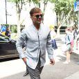 """Ricky Martin - Arrivées au défilé de mode Hommes printemps-été 2017 """"Giorgio Armani"""" à Milan. Le 21 juin 2016"""