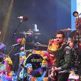 """Le prince Harry et le prince Seeiso du Lesotho - Concert caritatif de la Fondation """"Sentebale"""" à Kensington Palace à Londres, le 28 juin 2016"""