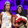 Exclusif - Flora Coquerel, Miss France 2014 et Miss Ile-de-France 2016, Meggy Pyaneeandee, représentera la région capitale à l'élection de miss France et Fanny Harcaut , Miss Ile-de-France 2015 - Election de Miss Ile-de-France 2016 dans la salle Gaveau à Paris, France, le 29 juin 2016. © Giancarlo Gorassini/Besimage