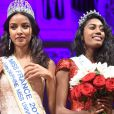 Exclusif - Flora Coquerel, Miss France 2014 et Miss Ile-de-France 2016, Meggy Pyaneeandee, représentera la région capitale à l'élection de miss France - Election de Miss Ile-de-France 2016 dans la salle Gaveau à Paris, France, le 29 juin 2016. © Giancarlo Gorassini/Besimage