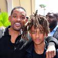 Will Smith et son fils Jaden à la 63ème édition du Cannes Lions à Cannes le 21 juin 2016. © Bruno Bébert / Bestimage