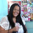 Sarah Fraisou en interview chez Télé Star, juillet 2016.