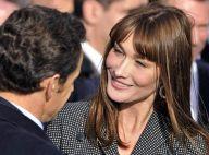 Carla Bruni couronnée double disque d'or et de platine sous les yeux de Nicolas Sarkozy !