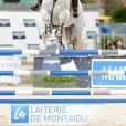 Georgina Bloomberg sur Crown 5 97 - Prix Renault Talisman - Longines Paris Eiffel Jumping au Bois de Boulogne à la plaine de Jeux de Bagatelle à Paris, le 2 juillet 2016. © Pierre Perusseau/Bestimage
