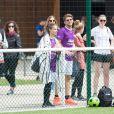 Exclusif - Rayane Bensetti et Denitsa Ikonomova adeptes du ballon rond. Le 2 juillet 2016