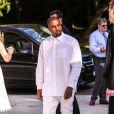"""Kanye West - Arrivées des people à la soirée """"The Art of Giving"""" Love Ball à la Fondation Louis Vuitton à Paris le 6 juillet 2016."""