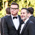 """Marc Jacobs et Charles Defrancesco - Arrivées des people à la soirée """"The Art of Giving"""" Love Ball à la Fondation Louis Vuitton à Paris le 6 juillet 2016."""