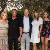 Sylvester Stallone fête ses 70 ans avec ses jolies filles et Albert de Monaco