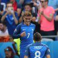 Antoine Griezmann, Dimitri Payet - Match de l'UEFA Euro 2016 France-Irlande au Stade des Lumières à Lyon, France le 26 juin 2016. © Cyril Moreau/Bestimage