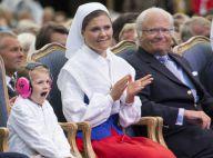 Estelle de Suède : Usée aux 39 ans de sa maman, sauf devant son chouchou !