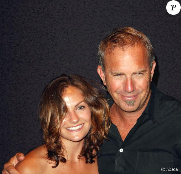 Kevin Costner et sa fille Annie à New York City, le 29 mai 2007.