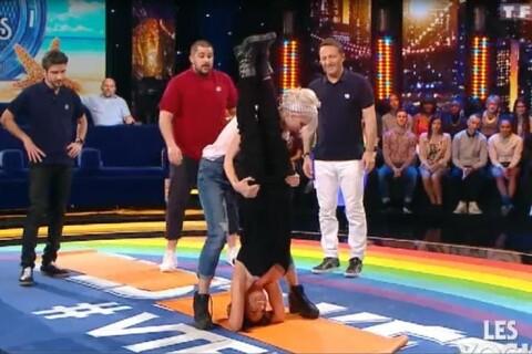 Fabienne Carat rayonnante dans VTEP : Sa séance de yoga sensuelle et drôle