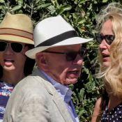 Jerry Hall et son mari Rupert Murdoch : Déjeuner avec l'ex du milliardaire