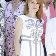 Gloria Lomana le 26 juillet 2016 au Parque del Retiro à Madrid lors de la cérémonie des 25e Prix FEDEPE en l'honneur des femmes dirigeantes, chefs d'entreprise et professionnelles.