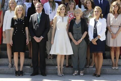 Letizia d'Espagne : Lumineuse aux côtés de Sara Baras et de femmes d'exception