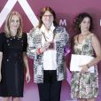 Photo des personnalités primées le 26 juillet 2016 au Parque del Retiro à Madrid lors de la cérémonie des 25e Prix FEDEPE en l'honneur des femmes dirigeantes, chefs d'entreprise et professionnelles.