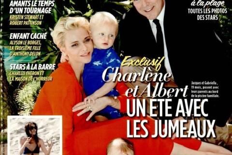 """Charlene et Albert de Monaco : """"Les jumeaux nagent deux fois par jour"""""""