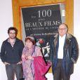 Agnès Varda, Mathieu Demy et Claude-Jean Philippe