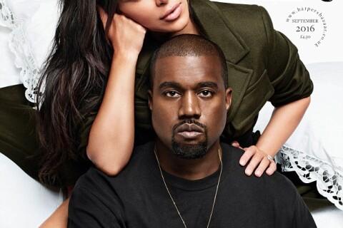 Kanye West et Kim Kardashian cash et sensuels pour Harper's Bazaar