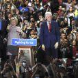 Hillary Clinton, son mari Bill Clinton, leur fille Chelsea avec son mari Marc Mezvinsky - Hillary Clinton a remporté l'état de New York dans sa course à l'investiture présidentielle le 19 avril 2016