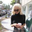 Courtney Stodden fait un arrêt dans un Starbucks à Beverly Hills Los Angeles, le 07 mai 2015