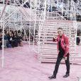 Raf Simons - Défilé de mode haute couture printemps-été 2015 Christian Dior à Paris le 26 janvier 2015.