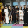 Hailee Steinfeld, Cara Delevingne, Selena Gomez, Taylor Swift, Serayah, Lily Aldridge à la Soirée des MTV Video Music Awards à Los Angeles le 30 aout 2015