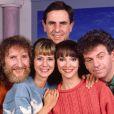 Le Club Dorothee Dorothée, Ariane Carletti, François Corbier, Jacky Jakubowicz, Patrick Simpson-Jones en 1989