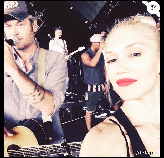 Gwen Stefani et Blake Shelton se fréquentent depuis octobre 2015 (ici en août 2016).