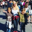 Jenna Jameson et ses enfants, Journey et Jesse. Photo publiée sur Instagram au mois de juin 2016