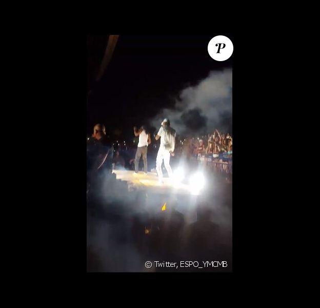 Snoop Dogg et Wiz Khalifa en concert dans le New Jersey, le 5 août 2016